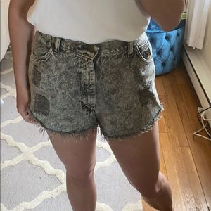 Urban Outfitters x Wrangler Jean shorts